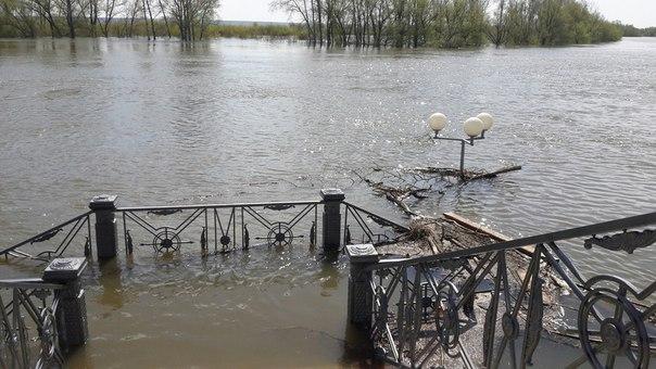Ишим паводок 2017