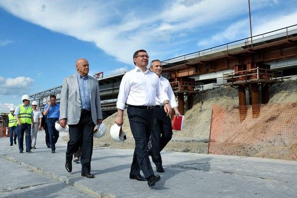 Строительство Мельникайте в Тюмени