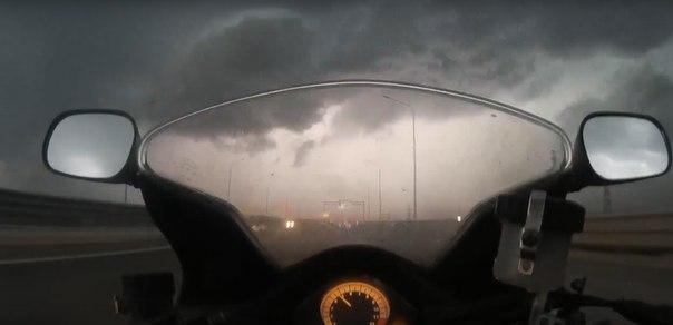 ураган в Тюмени