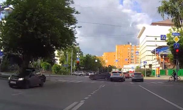 ДТП на Орджоникидзе Советская в Тюмени