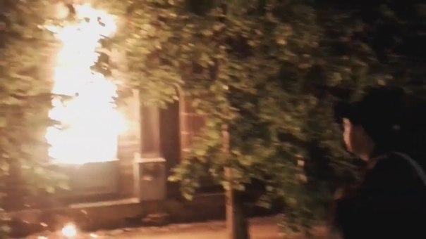 пожар на Холодильной