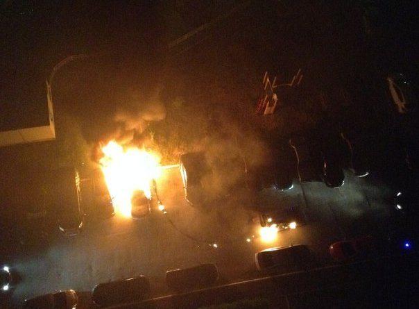 поджог автомобилей на Сперанского