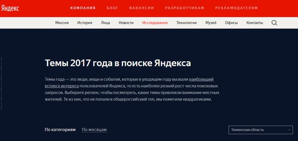 Яндекс назвал