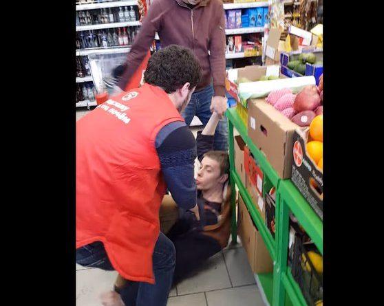 избили в супермаркете