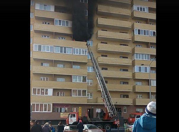 пожар Верхнетарманская