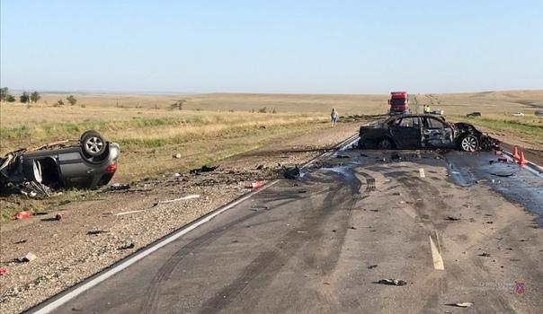 аварию под Волгоградом
