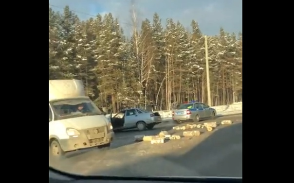 ДТП Червишевский тракт