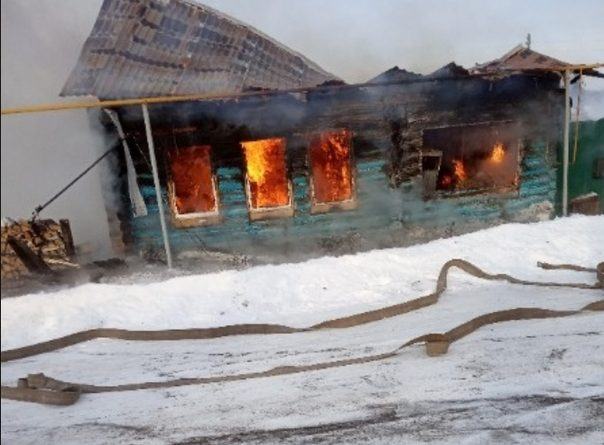 в ишимском селе взрыв