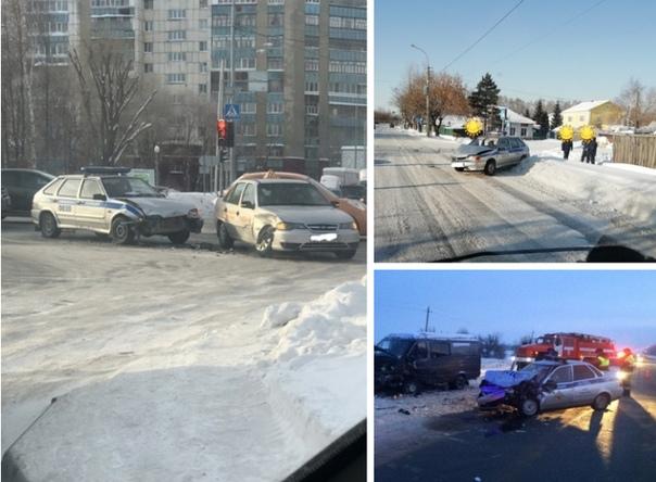 аварии с участием полицейских
