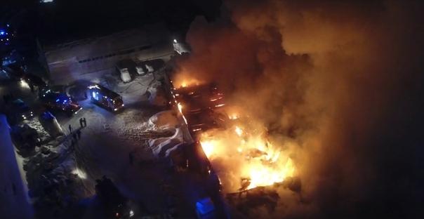 пожар на Дамбовской