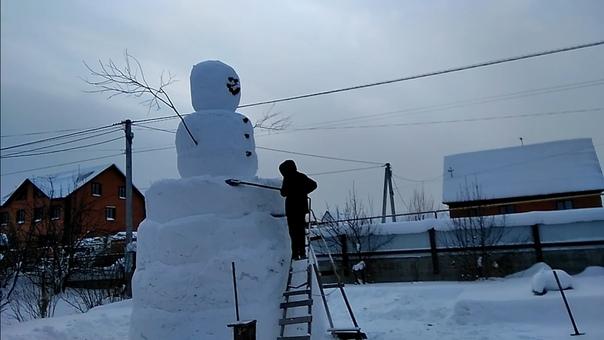снеговик Тюменец