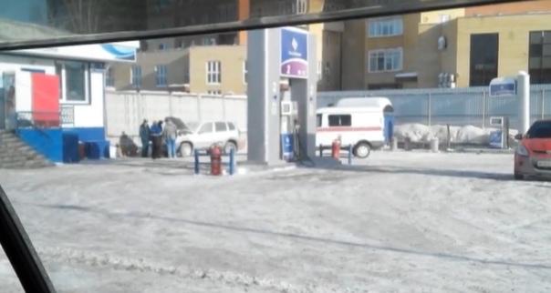 хлопнула газовая Нива