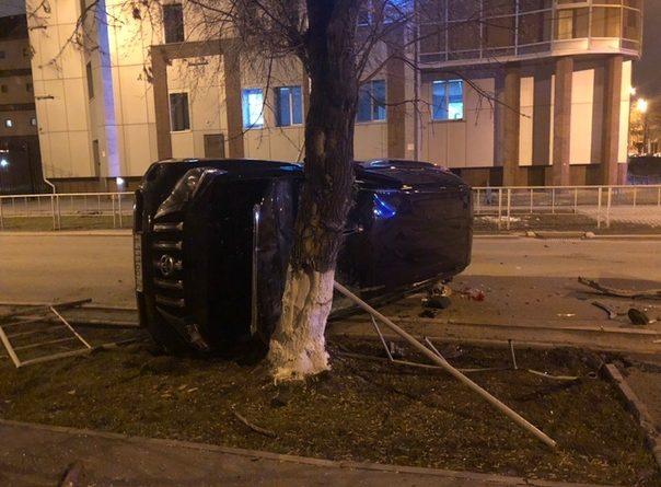 Вечерняя авария в центре Тюмени: