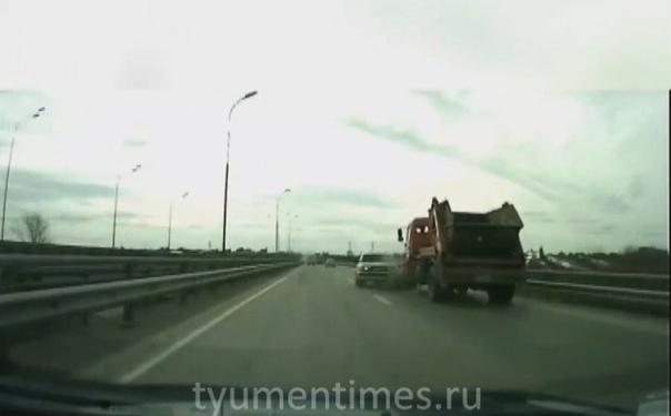 ДТП на тюменской объездной