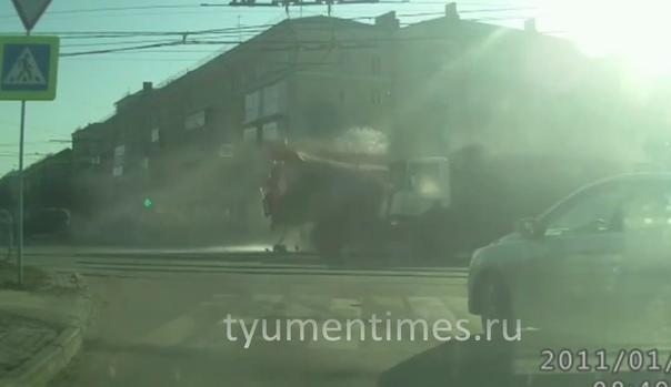 челябинске пожарный самосвал