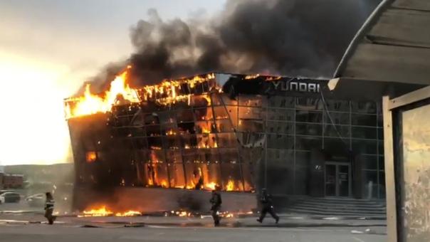 пожар Кемерово