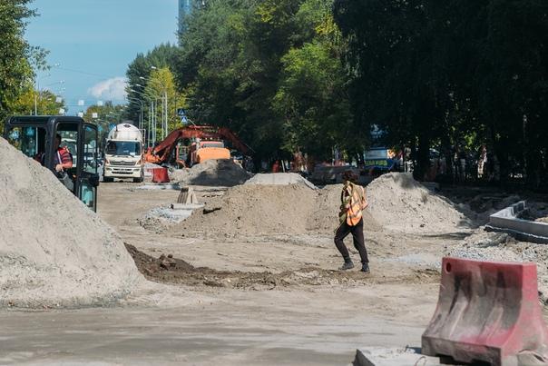 Открытие движения по улице Одесской откладывается