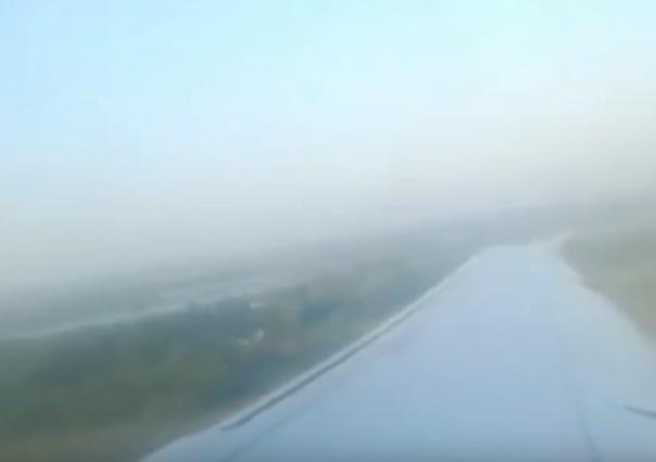 Момент взлета и аварийной посадки самолета, севшего на кукурузное поле попал на ВИДЕО