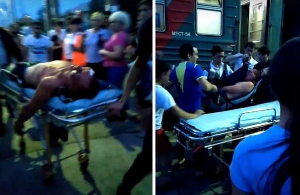 В поезде Новый Уренгой - Екатеринбург один пассажир пытался зарезать другого ложкой