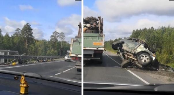 В страшной аварии под Демьянкой погибли два человека