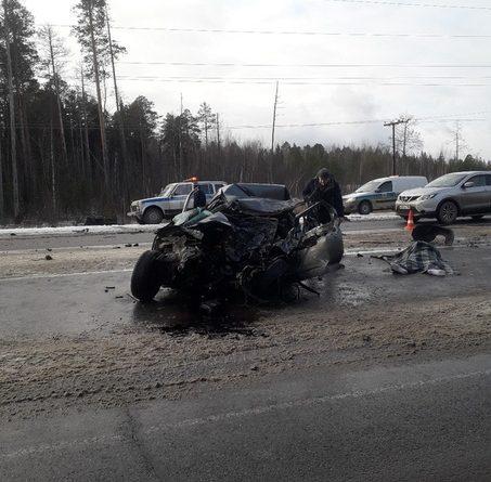 Жуткая авария на трассе Нефтеюганск - Сургут: двое погибших, один в реанимации