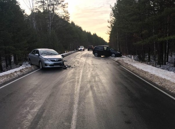 В аварии под Юргинским пострадал 5-летний ребенок