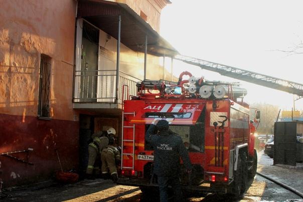 Пожар в тюменской бане на Мира: загорелась вытяжка в прачечной