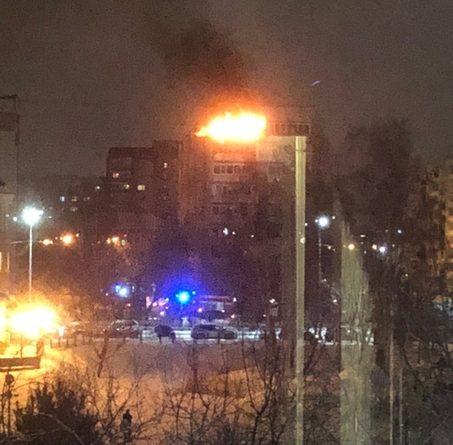 """В девятиэтажке на Логунова вспыхнул балкон: """"Запускали салют и через 2 минуты огонь"""""""