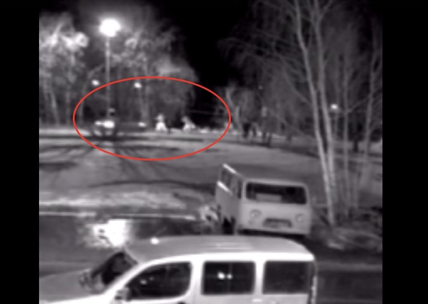 Появилось ВИДЕО очередного ДТП в Антипино, где легковушка сбила пешехода