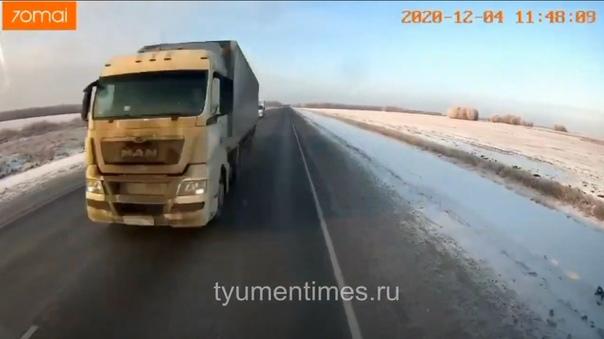 видео момента дтп тюмень омск