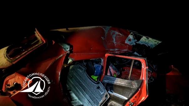 Тюменцы погибли в ночном ДТП с фурой на трассе в Челябинской области