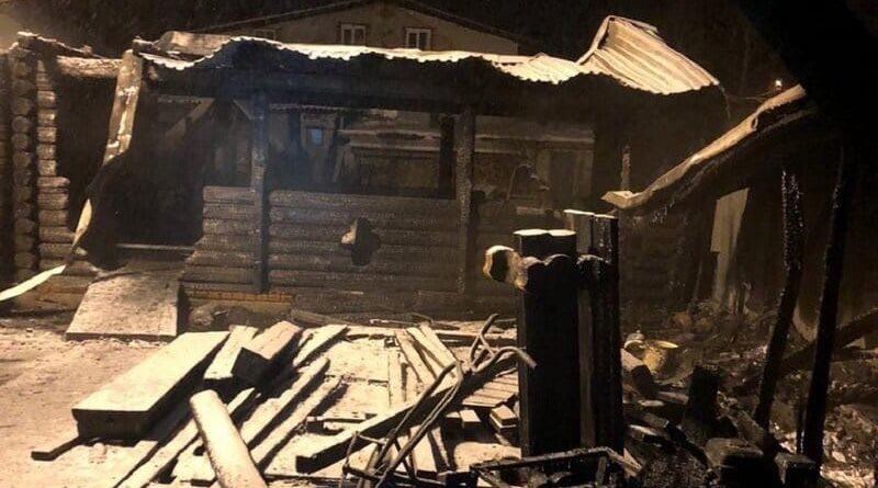 Трагедия в Боровском, погибли семь постояльцев пансионата для пожилых людей. Видео, официальные комментарии