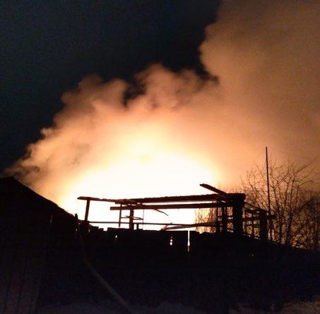 Ночной пожар в Падерина: погиб хозяин дома