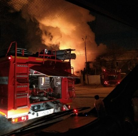 Ночью на Лесобазе сгорела старая двухэтажка