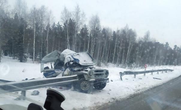 ДТП УАЗ полиция Тюмень