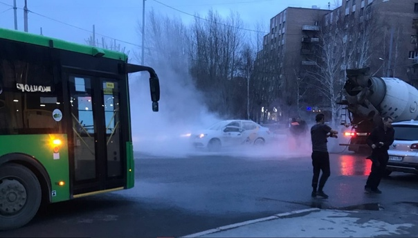 В Тюмени таксист пострадал при взрыве газового баллона в автомобиле