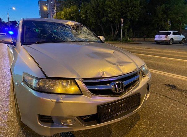 Вечером на Трактовой насмерть сбили велосипедиста