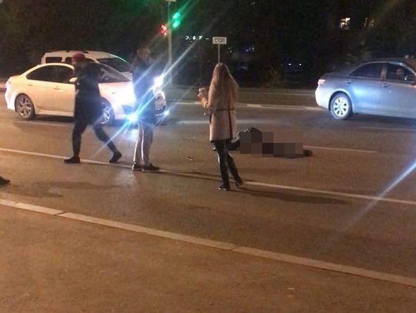 """Подробности трагедии у """"Колумба"""", где вечером байкер сбил насмерть пешехода"""